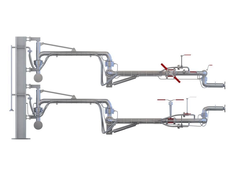 LNG装卸车鹤管