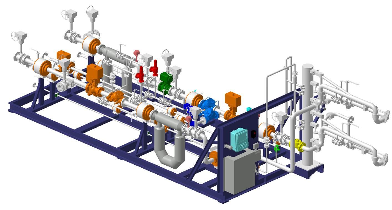 LNG装车橇