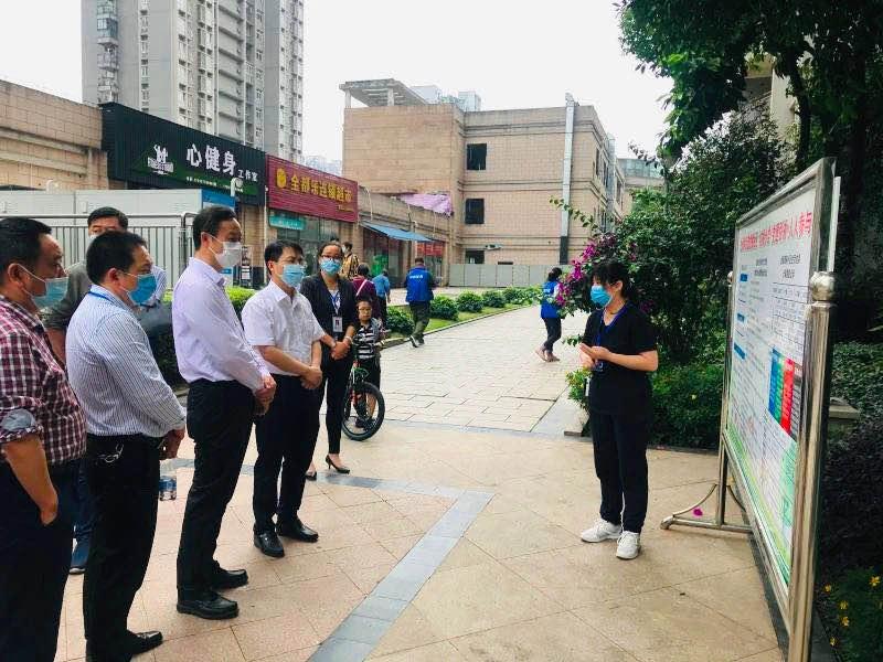 重庆市城管局副局长万隆一行调研金源御府垃圾分类——保护环境,betway88官网手机版下载一直在路上