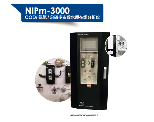 NIPM-3000氨氮/COD/总磷多参数水质在线分析仪